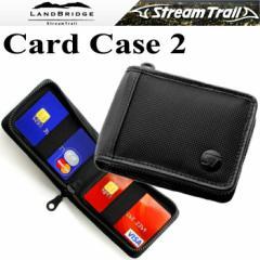 【ゆうパケット対応】LANDBRIDGE ランドブリッジ カードケース2 CARDCASE2 名刺入れ ブラック