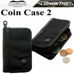【ゆうパケット対応】LANDBRIDGE ランドブリッジ コインケース2 小銭入れ ブラック ストリームトレイル