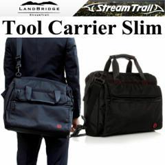 【送料無料】LANDBRIDGE ランドブリッジ ツールキャリアースリム Tool Carrier Slim ビジネスショルダーバッグ ストリームトレイル