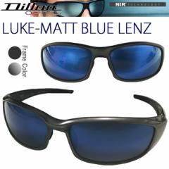 【送料無料】DILLON NIR ディロン ルーク LUKE MATT BLUE LENZ 偏光サングラス マットブルーレンズ