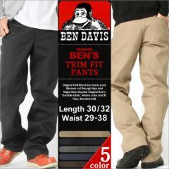 BEN DAVIS ベンデイビス チノパン メンズ 大きいサイズ メンズ ワークパンツ 黒 ブラック カーキ ベージュ ベンデイビス