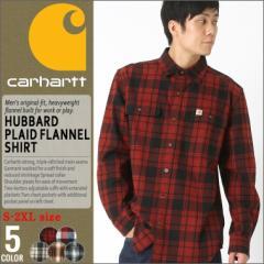 Carhartt カーハート ネルシャツ メンズ 長袖 大きいサイズ メンズ チェック 厚手 フランネルシャツ アメカジ 長袖シャツ