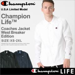 Champion チャンピオン ナイロンジャケット メンズ コーチジャケット メンズ 大きいサイズ メンズ アメカジ ジャケット ストリート