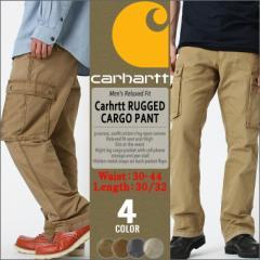 カーハート (Carhartt) カーゴパンツ メンズ 太め 大きいサイズ メンズ アメカジ ブランド カーゴパンツ 作業着 作業服