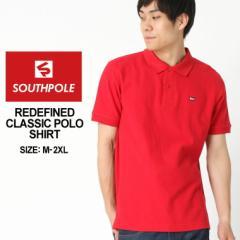 サウスポール SOUTHPOLE ポロシャツ メンズ 半袖 無地 ブランド ストリート ポロシャツ 大きいサイズ メンズ