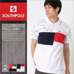 サウスポール SOUTHPOLE ポロシャツ メンズ ブランド ポロシャツ 半袖 メンズ おしゃれ ストリート ポロシャツ 大きいサイズ メンズ