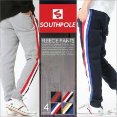 サウスポール SOUTHPOLE ジョガーパンツ スウェット ラインパンツ 裏起毛 スウェットパンツ メンズ 大きいサイズ メンズ パンツ