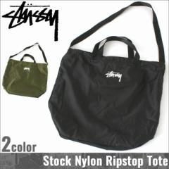 STUSSY ステューシー バッグ メンズ 2WAY バッグ メンズ ナイロン トートバッグ ショルダーバッグ 折り畳み 持ち運び