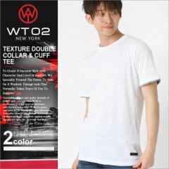 【WT02】 tシャツ メンズ 半袖 ブランド ポケット tシャツ レイヤード メンズ ┃ 半袖tシャツ 無地 tシャツ ポケット 大きいサイズ