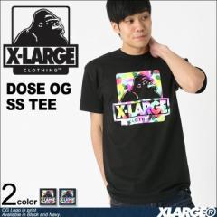 X-LARGE エクストララージ Tシャツ メンズ 半袖 ブランド DOSE OG SS TEE 大きいサイズ メンズ tシャツ ストリート
