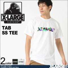 X-LARGE エクストララージ Tシャツ メンズ 半袖 ブランド TAB SS TEE 大きいサイズ メンズ tシャツ ストリート