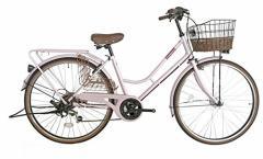 Lupinus 26インチHフレーム自転車 シャンパンピンク LP-266HA-ALL