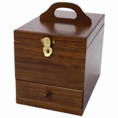 茶谷産業 日本製 Wooden Case 木製コスメティックボックス 017-513