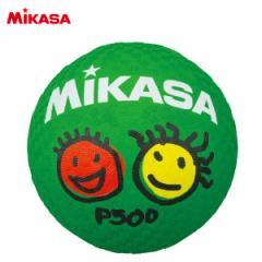 ミカサ ドッジボール プレイグラウンドボール ゴム 緑 P500