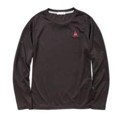 メール便対応(1個まで) ルコック トレーニングウェア レディース 長袖Tシャツ QB117175-BLK