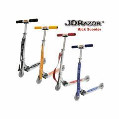 キックボード 4インチ LEDホイール 光るタイヤ ショルダーストラップ 折りたたみ JD RAZOR MS-102 キックスケーター