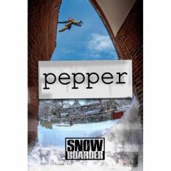 17-18 DVD SNOW PEPPER SNOWBOARDER MAG スノーボード