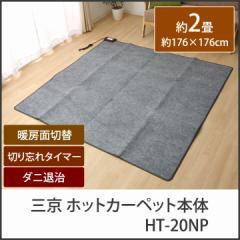 ホットカーペット 電気カーペット 本体 2畳用「 HT-20NP 」【IT】(#9802072)約176×176cm2畳用 家電