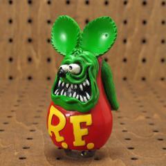 ラットフィンク(Rat Fink) フィギュアシフトノブ グリーン_SF-RAF397GR-MON