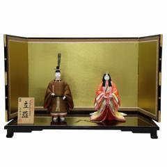 雛人形 平飾り木目込み立雛 東宮立雛1147 幅81cm  3mk14 真多呂 伝統的工芸品 雛祭り