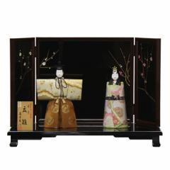 雛人形 平飾り木目込み立雛 修明立雛1954 幅60cm  3mk15 真多呂 伝統的工芸品 雛祭り