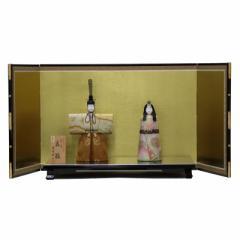 雛人形 平飾り木目込み親王 本金修明立雛1904 幅88cm  3mk22 真多呂 伝統的工芸品 雛祭り
