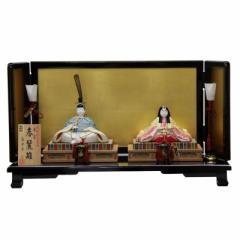 雛人形 平飾り木目込み親王 本金春麗雛1816 幅60cm  3mk23 真多呂 伝統的工芸品 雛祭り