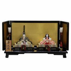 雛人形 平飾り木目込み親王 本金華鳳雛1827 幅60cm  3mk24 真多呂 伝統的工芸品 雛祭り