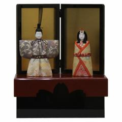 雛人形 収納飾り木目込み立雛 彩明立雛1170 幅35cm  3mk25 真多呂  雛祭り