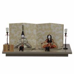 雛人形 平飾り木目込み親王 醍醐雛20号C1803 幅60cm  3mk33 一秀(木村秀櫻) 雛祭り