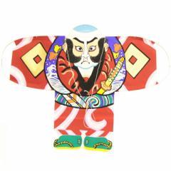 インテリア 手描き【和凧】中奴凧 縦45×横60cm【ヤ-20イ】奴凧 赤 お正月飾り