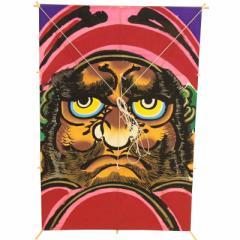 インテリア 手描き【和凧】新中角凧 縦58×横42cm【ワ-6ホ】達磨 お正月飾り