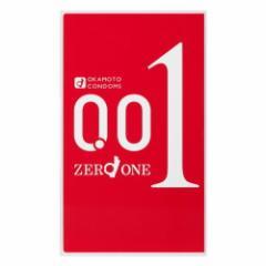 オカモト ゼロワン(001) 3個入り [okamoto][コンドーム][0.01ミリ]