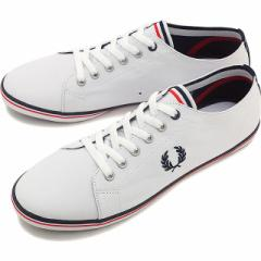 【日本別注】FRED PERRY フレッドペリー スニーカー KINGSTON JAPAN SMU WHITE/NAVY/ENGLAND RED (SB6259-A38)