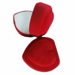 ハートギフトケース 赤 レッド ラッピングボックス 指輪 リング ピアス イヤリング ネックレス 贈り物 店舗用 業務用 個性的 ユニーク プ
