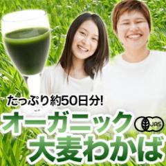 美味しい抹茶風味★オーガニック青汁大麦若葉100g★送料無料【人気商品】