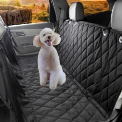 新型ペット用ドライブシート 車用ペットシート カーシートカバー 滑り止め 高品質 防水 水洗い可能 撥水 折りたたみ  カーシート