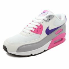 スニーカー ナイキ NIKE ウィメンズエアマックス90 ホワイト/パープル/ピンク メンズ レディース シューズ 靴 18FA