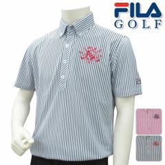 FILA GOLF フィラゴルフ 半袖 ポロシャツ MENS メンズ 春夏 748-621 NEW春夏モデル 半袖ポロシ