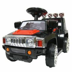 電動乗用カー ZPV ブラック イエロー ラジコンカー コントローラー付属無し ハマータイプ おもちゃ バッテリー・充電器付(代引不可)