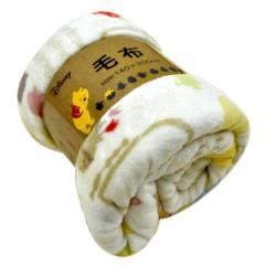 洗える 【ノルディックプー】毛布 140×200cm シングルサイズ 布団 ブランケット 子供用 子供部屋 ディズニー(代引不可)【送料無料】