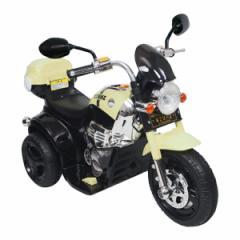 電動乗用バイク ブラック ホワイト 充電器付き CBK-014 子供用 乗用 プレゼント  おもちゃ バイク カッコいい(代引不可)【送料無料