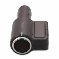 フォースメディア Bluetooth シガーソケット搭載ワイヤレスFMトランスミッター JF-BTFM23KC