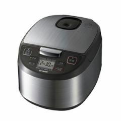 シャープ ジャー炊飯器 5.5合 KS-S10J-S シルバー(代引不可)【送料無料】