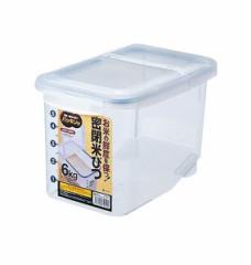 アスベル 密閉米びつ6kg(パッキン付) ナチュラル