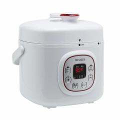 RELICIA コンパクト電気圧力鍋 RLC-PC02RF ダイヤモンドコーティング【送料無料】