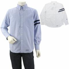 チャンピオン CHAMPION ロングスリーブボタンダウンシャツ LONG SLEEVE BD SHIRT C3 L419 国内正規品