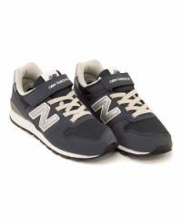 ニューバランス 女の子 男の子 キッズ 子供靴 スニーカー KV996 ゴム紐 new balance 173996 ネイビー