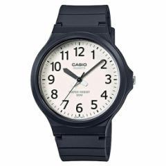 メール便発送 CASIO カシオ スタンダード チープカシオ チプカシ ユニセックス 腕時計 ブラック/ホワイト MW-240-7B