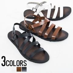 SB select シルバーバレットセレクト バックストラップ サンダル 全3色 即日配送 メンズ 靴 シューズ シンプル カジュアル ブラック